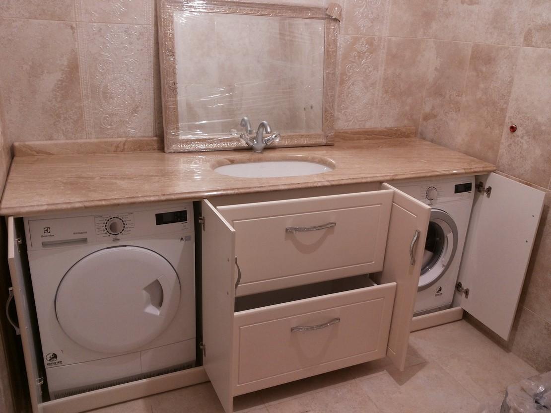 стиральная машина вместе с сушильной