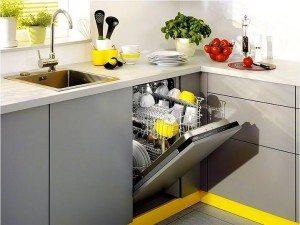 размеры встраиваемых посудомойки