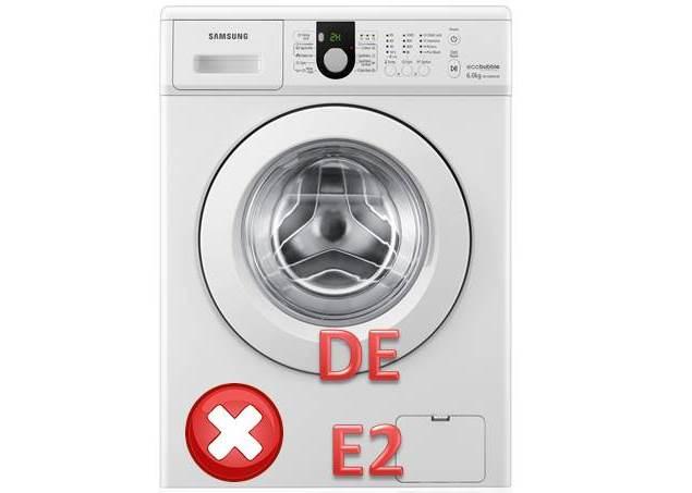 Коды неисправностей DE и E2