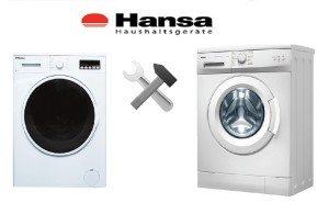 Ремонт неисправностей стиральных машин Hansa