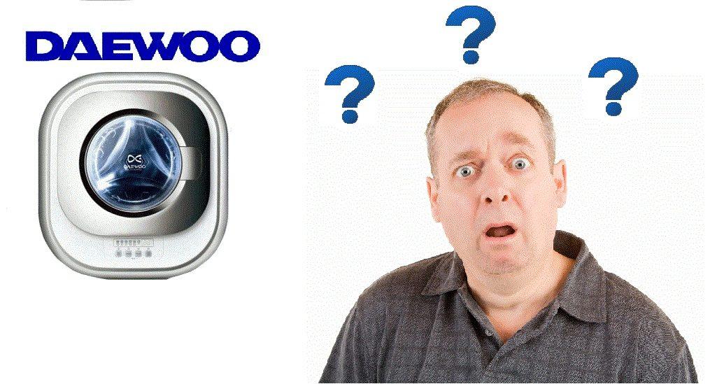 Отзывы о настенных стиральных машинах Daewoo