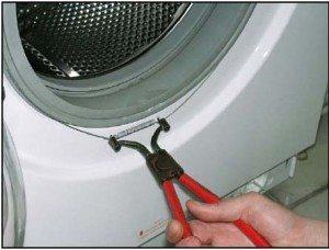 замена манжеты в стиральной машине