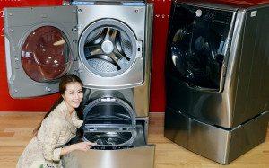 Обзор стиральной машины с двумя барабанами