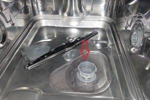 фильтр в посудомоечной машине Бош