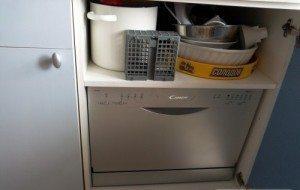 компактная посудомойка канди
