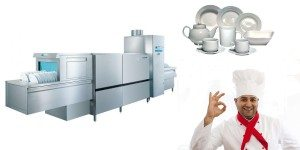 профессиональная посудомоечная машина