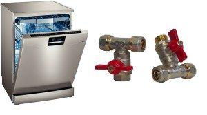 Кран для подключения посудомоечной машины к водопроводу