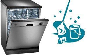 Как очистить посудомоечную машину внутри своими руками