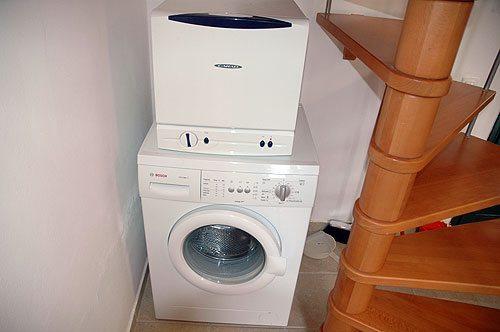 посудомоечная машина на стиральной машине