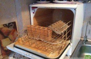 электролюкс посудомойка