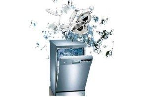 утечка воды из посудомойки