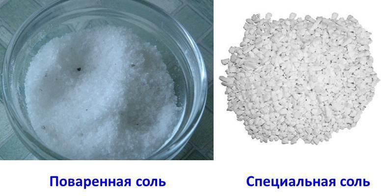 зачем нужна соль в посудомойке