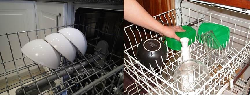 как укладывать тарелки