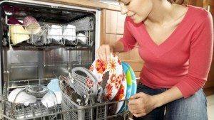 сколько моет посудомойка