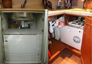 посудомойка под раковиной