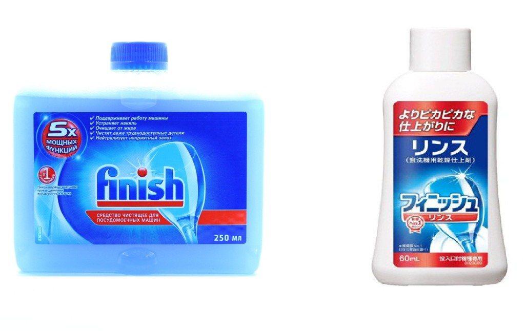 средства очистки для посудомойки