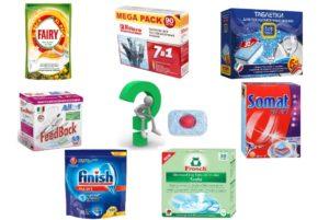 Рейтинг таблеток для посудомоечных машин