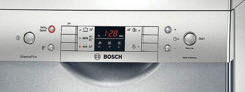 Индикаторы посудомоечных машин Bosch