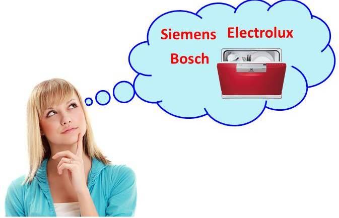 Какая посудомоечная машина лучше - Bosch, Siemens, Electrolux?