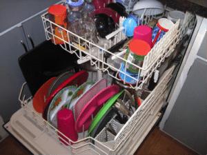 первый запуск посудомойки