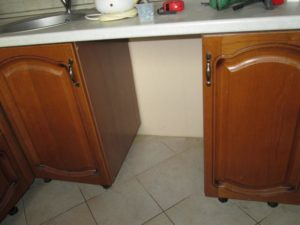 место под посудомоечную машину