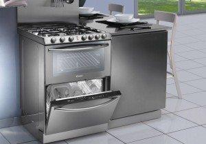 Обзор газовой плиты с посудомоечной и/или духовкой
