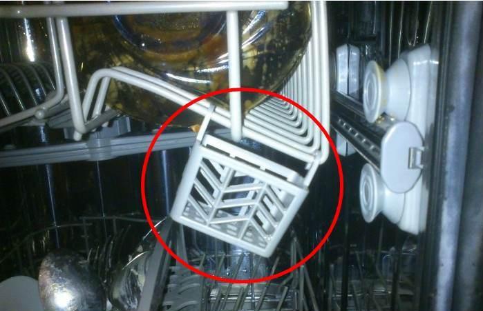 корзинка для таблетки в посудомойке