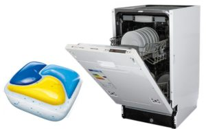 Обзор капсул для посудомоечной машины