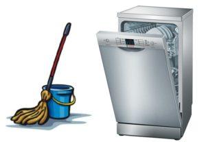 Как ухаживать за посудомоечной машиной