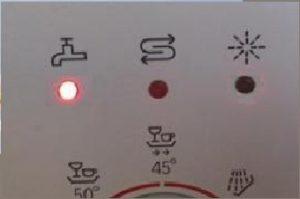индикатор кран в посудомойках Бош