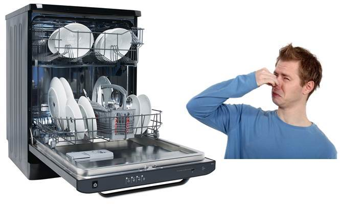Как убрать запах из посудомоечной машины