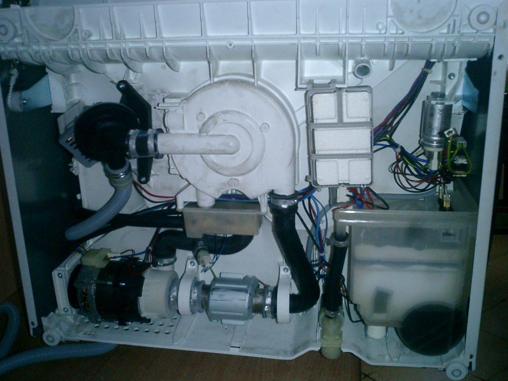 замена тэна в посудомоечной машине Занусси