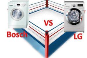 Что лучше стиральная машина Bosch или LG?