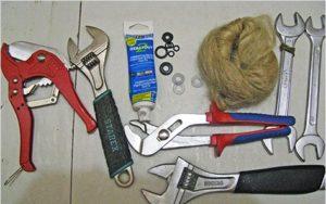 инструменты для установки стиральной машины