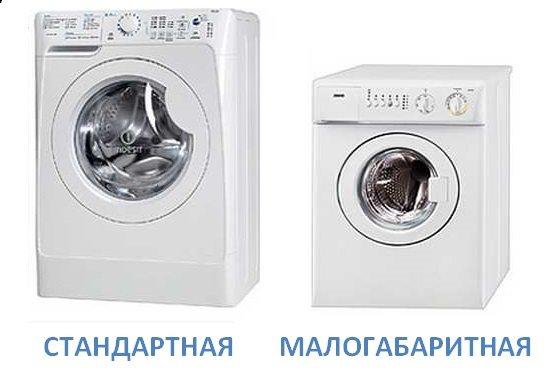 Малогабаритные стиральные машины автомат - размеры и обзор