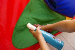 обработка палатки
