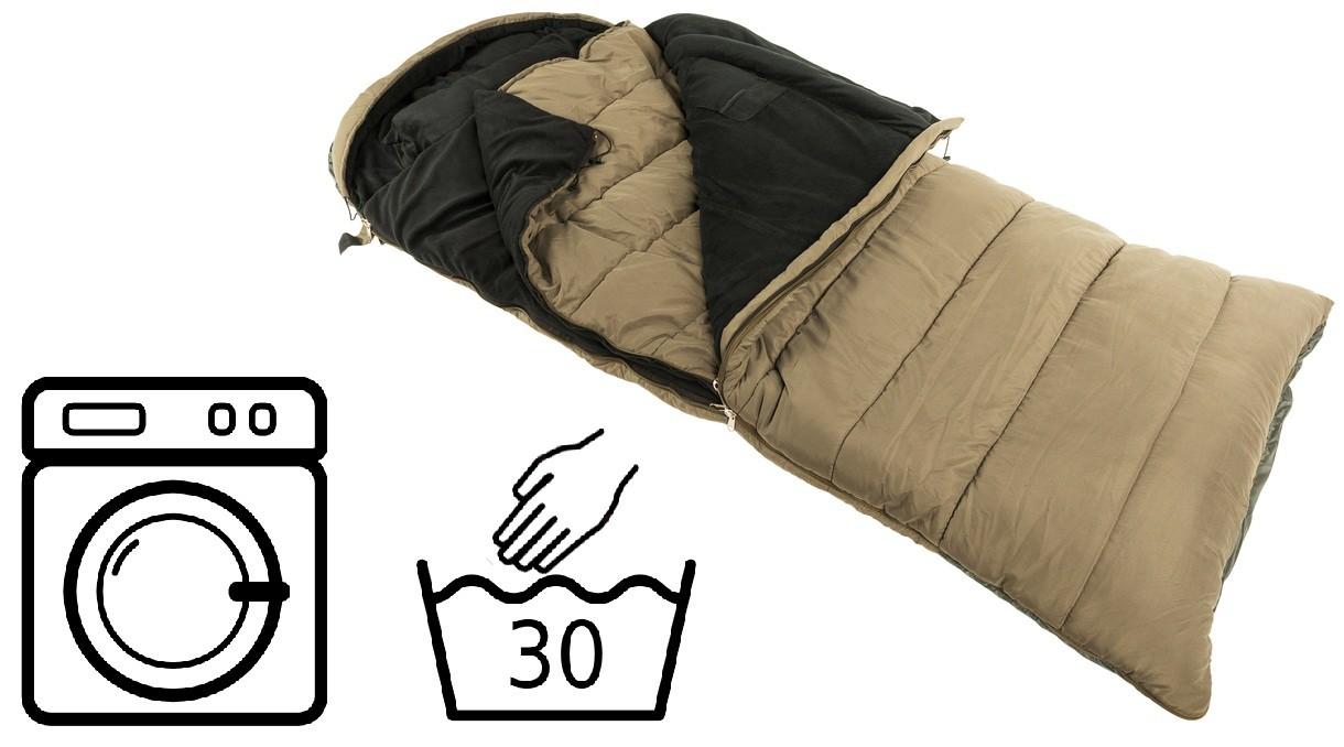 Как постирать спальный мешок в стиральной машине