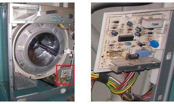 провода в стиральной машине