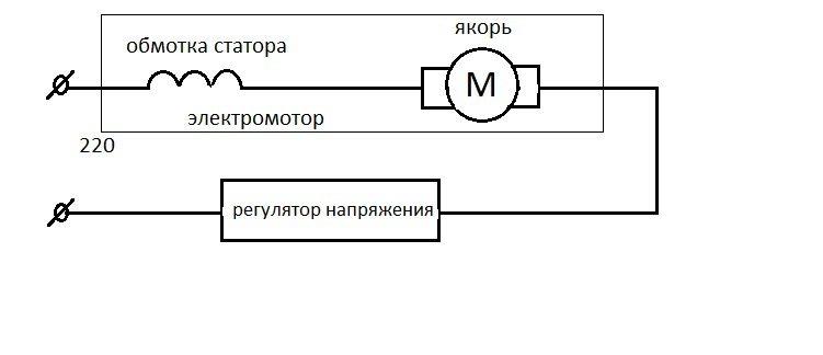 схема и регулятор