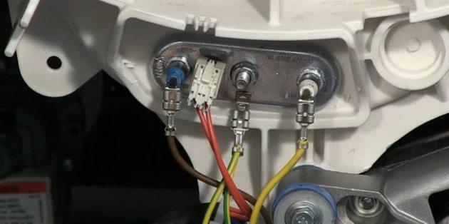 фотаем провода нагревательного элемента