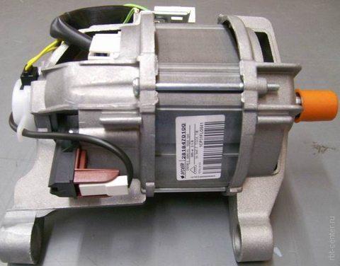 Какая мощность у электродвигателя стиральной машины?