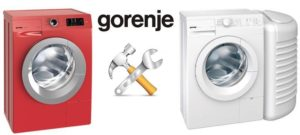 Ремонт неисправностей стиральных машин Gorenje своими руками
