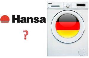 Кто производитель стиральных машин Hansa?