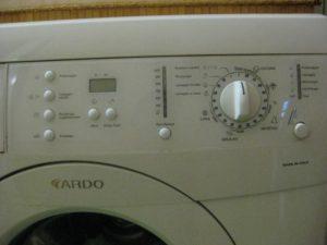 Как включить стиральную машинку Ардо