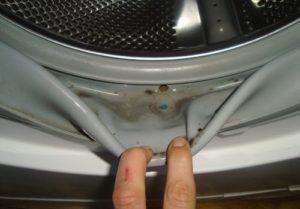 грязь в машинке автомат
