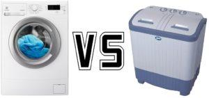 разница между машинкой автомат и полуавтомат