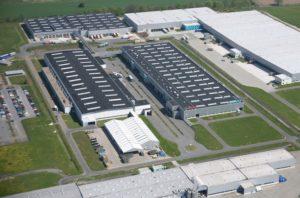 завод по выпуску стиральных машин Бош в Германии
