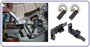замена щеток в двигателе стиралки
