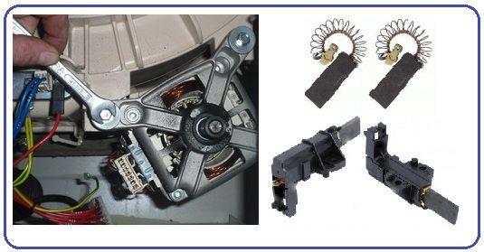 Как поменять щетки на стиральной машине Bosch