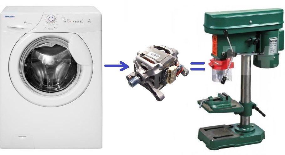 Как сделать станок из двигателя от стиральной машины